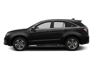 Crystal Black Pearl 2016 Acura RDX Pictures RDX Utility 4D Advance AWD V6 photos side view
