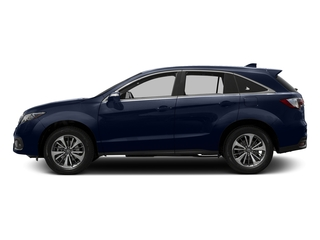 Fathom Blue Pearl 2016 Acura RDX Pictures RDX Utility 4D Advance AWD V6 photos side view