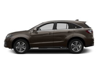 Kona Coffee Metallic 2016 Acura RDX Pictures RDX Utility 4D Advance AWD V6 photos side view