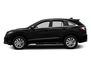 Crystal Black Pearl 2016 Acura RDX Pictures RDX Utility 4D AWD V6 photos side view
