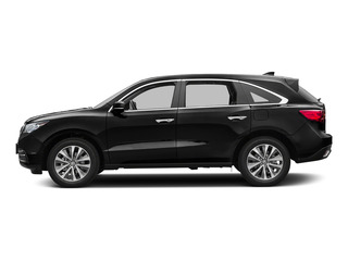 Crystal Black Pearl 2016 Acura MDX Pictures MDX Utility 4D Technology DVD AWD V6 photos side view