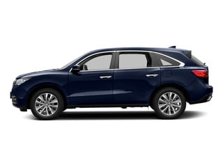 Fathom Blue Pearl 2016 Acura MDX Pictures MDX Utility 4D Technology DVD AWD V6 photos side view