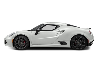 White 2016 Alfa Romeo 4C Pictures 4C Coupe 2D I4 Turbo photos side view