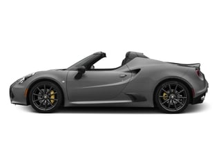 Basalt Gray Metallic 2016 Alfa Romeo 4C Pictures 4C Convertible 2D Spyder I4 Turbo photos side view