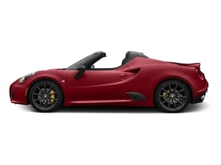 Rosso Competizione Tri-Coat 2016 Alfa Romeo 4C Pictures 4C Convertible 2D Spyder I4 Turbo photos side view