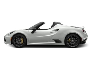 White 2016 Alfa Romeo 4C Pictures 4C Convertible 2D Spyder I4 Turbo photos side view