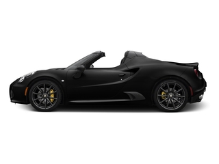 Black 2016 Alfa Romeo 4C Pictures 4C Convertible 2D Spyder I4 Turbo photos side view