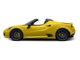 Giallo Prototipo 2016 Alfa Romeo 4C Pictures 4C Convertible 2D Spyder I4 Turbo photos side view