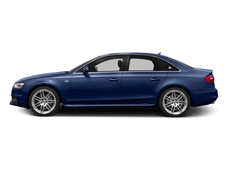 Scuba Blue Metallic 2016 Audi A4 Pictures A4 Sedan 4D 2.0T Premium 2WD photos side view
