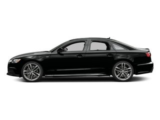 Mythos Black Metallic 2016 Audi S6 Pictures S6 Sedan 4D S6 Premium Plus AWD photos side view