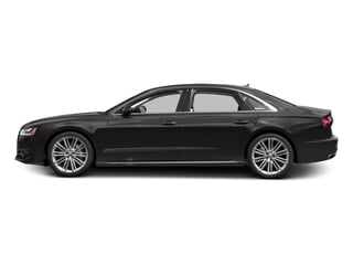 Oolong Gray Metallic 2016 Audi A8 L Pictures A8 L Sedan 4D 4.0T L Sport AWD V8 Turbo photos side view