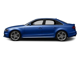 Sepang Blue Pearl Effect 2016 Audi S4 Pictures S4 Sedan 4D S4 Prestige AWD photos side view