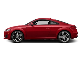 Tango Red Metallic 2016 Audi TT Pictures TT Coupe 2D AWD photos side view