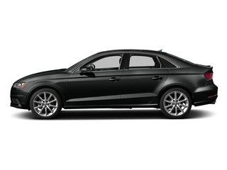 Mythos Black Metallic 2016 Audi A3 Pictures A3 Sedan 4D TDI Premium Plus 2WD Turbo photos side view