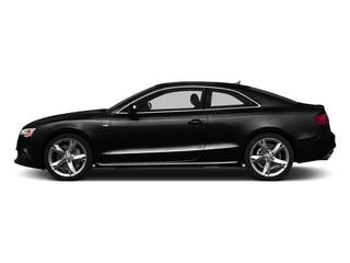 Mythos Black Metallic 2016 Audi A5 Pictures A5 Coupe 2D Premium AWD photos side view