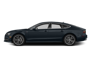 Moonlight Blue Metallic 2016 Audi A7 Pictures A7 Sedan 4D 3.0T Prestige AWD photos side view