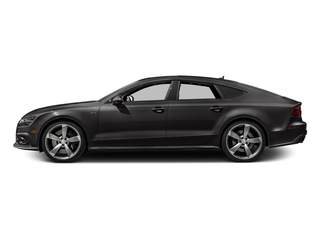 Oolong Gray Metallic 2016 Audi S7 Pictures S7 Sedan 4D S7 Prestige AWD photos side view