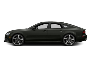 Daytona Gray Matte Effect 2016 Audi RS 7 Pictures RS 7 Sedan 4D Prestige AWD photos side view