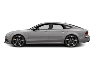 Florett Silver Metallic 2016 Audi RS 7 Pictures RS 7 Sedan 4D RS7 Performance AWD V8 photos side view