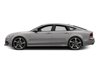Florett Silver Metallic 2016 Audi RS 7 Pictures RS 7 Sedan 4D Prestige AWD photos side view