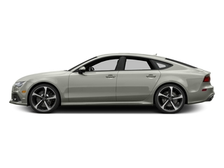 Prism Silver Crystal Effect 2016 Audi RS 7 Pictures RS 7 Sedan 4D Prestige AWD photos side view