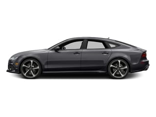 Nardo Gray 2016 Audi RS 7 Pictures RS 7 Sedan 4D Prestige AWD photos side view