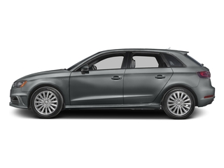 Monsoon Gray Metallic 2016 Audi A3 e-tron Pictures A3 e-tron Hatchback 5D E-tron Prestige photos side view