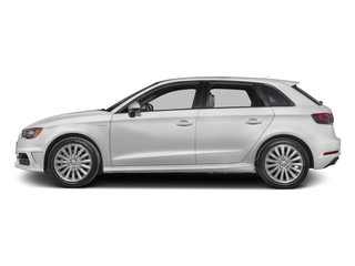 Glacier White Metallic 2016 Audi A3 e-tron Pictures A3 e-tron Hatchback 5D E-tron Prestige photos side view
