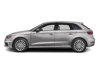 Florett Silver Metallic 2016 Audi A3 e-tron Pictures A3 e-tron Hatchback 5D E-tron Prestige photos side view