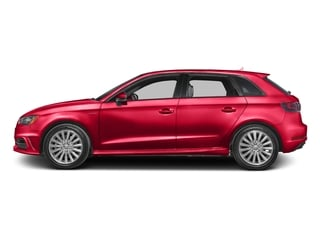 Misano Red Pearl Effect 2016 Audi A3 e-tron Pictures A3 e-tron Hatchback 5D E-tron Prestige photos side view