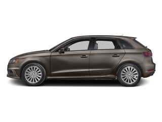 Dakota Gray Metallic 2016 Audi A3 e-tron Pictures A3 e-tron Hatchback 5D E-tron Prestige photos side view