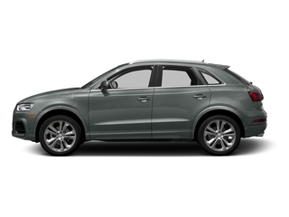 Monsoon Gray Metallic 2016 Audi Q3 Pictures Q3 Utility 4D 2.0T Prestige 2WD photos side view