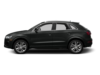 Mythos Black Metallic 2016 Audi Q3 Pictures Q3 Utility 4D 2.0T Prestige 2WD photos side view