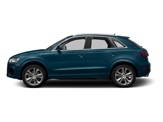 Utopia Blue Metallic 2016 Audi Q3 Pictures Q3 Utility 4D 2.0T Prestige 2WD photos side view
