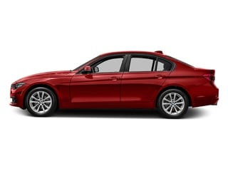 Melbourne Red Metallic 2016 BMW 3 Series Pictures 3 Series Sedan 4D 320xi AWD I4 Turbo photos side view