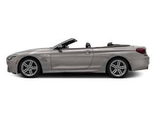 Cashmere Silver Metallic 2016 BMW 6 Series Pictures 6 Series Convertible 2D 640xi AWD I6 photos side view