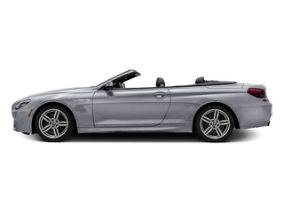 Glacier Silver Metallic 2016 BMW 6 Series Pictures 6 Series Convertible 2D 640xi AWD I6 photos side view