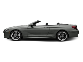 Space Gray Metallic 2016 BMW 6 Series Pictures 6 Series Convertible 2D 650xi AWD V8 photos side view