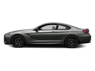 Space Gray Metallic 2016 BMW M6 Pictures M6 Coupe 2D M6 V8 photos side view