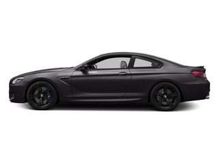 Ruby Black Metallic 2016 BMW M6 Pictures M6 Coupe 2D M6 V8 photos side view