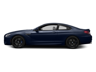 Tanzanite Blue Metallic 2016 BMW M6 Pictures M6 Coupe 2D M6 V8 photos side view