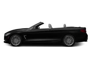 Jet Black 2016 BMW 4 Series Pictures 4 Series Convertible 2D 428xi AWD I4 Turbo photos side view