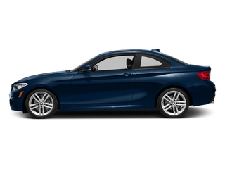 Midnight Blue Metallic 2016 BMW 2 Series Pictures 2 Series Coupe 2D 228i I4 Turbo photos side view