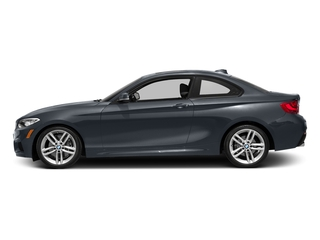 Mineral Gray Metallic 2016 BMW 2 Series Pictures 2 Series Coupe 2D 228i I4 Turbo photos side view