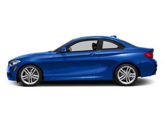 Estoril Blue Metallic 2016 BMW 2 Series Pictures 2 Series Coupe 2D 228i I4 Turbo photos side view