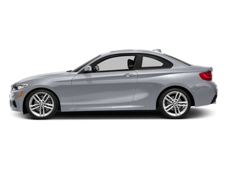 Moonlight Silver Metallic 2016 BMW 2 Series Pictures 2 Series Coupe 2D 228i I4 Turbo photos side view