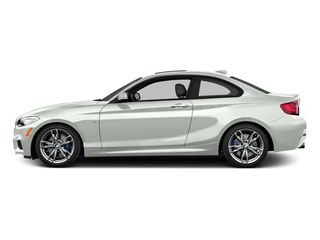 Alpine White 2016 BMW 2 Series Pictures 2 Series Coupe 2D M235i I6 Turbo photos side view