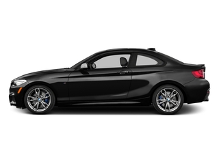 Black Sapphire Metallic 2016 BMW 2 Series Pictures 2 Series Coupe 2D M235i I6 Turbo photos side view