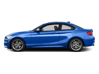 Estoril Blue Metallic 2016 BMW 2 Series Pictures 2 Series Coupe 2D M235i I6 Turbo photos side view