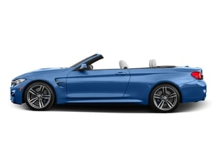 Yas Marina Blue Metallic 2016 BMW M4 Pictures M4 Convertible 2D M4 I6 Turbo photos side view